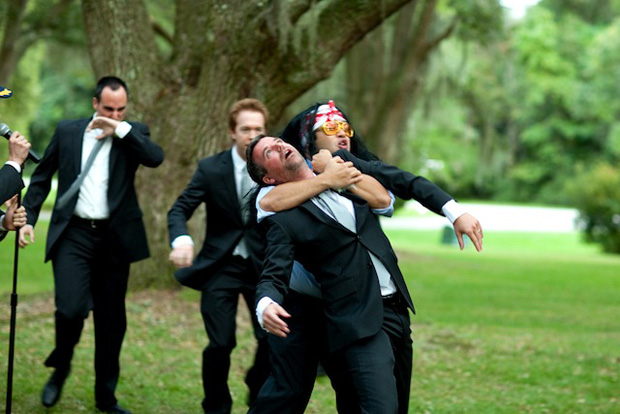 Pro Wrestler Wedding