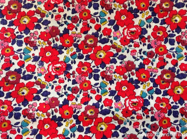 Betsy Ann print by Liberty of London