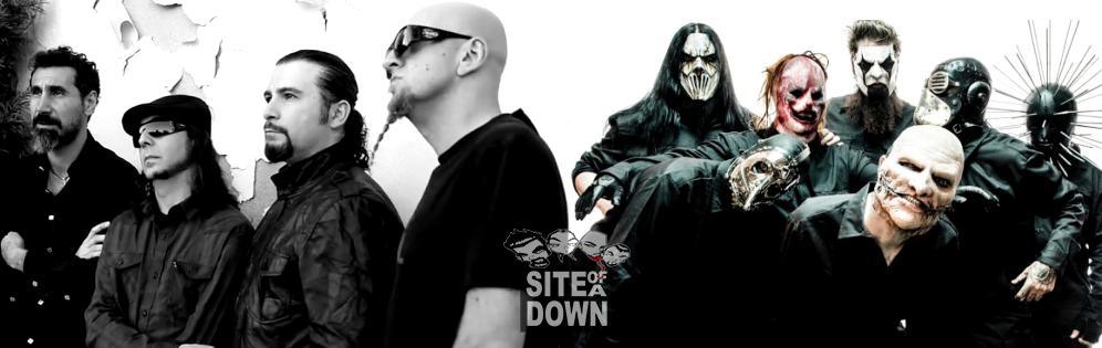 System of a Down pode tocar com o Slipknot em São Paulo