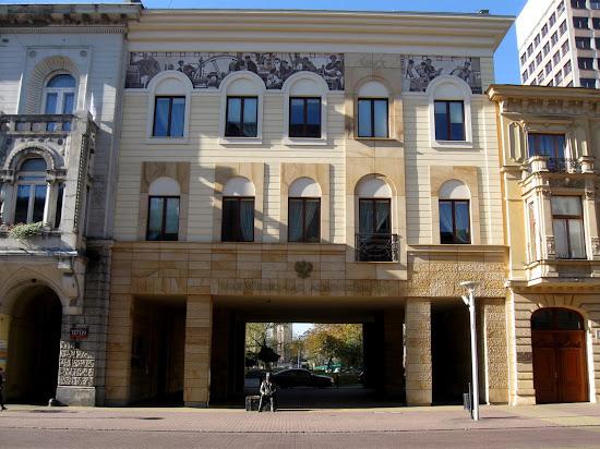 Łódź - kamienice na Piotrkowskiej - budynek sądu
