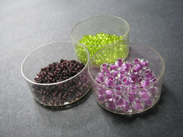 Wine Grape Bead Palette