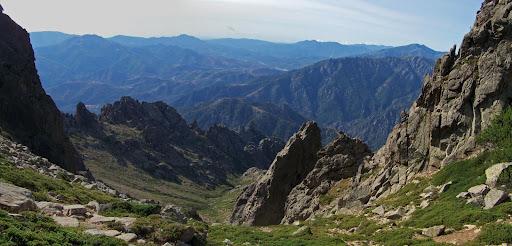 Vallon de descente au Sud de Cima a I Mori à partir du col 2070