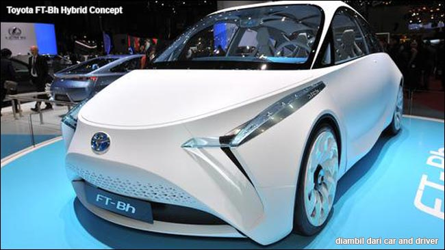 Toyota FT-Bh Hybrid Concept