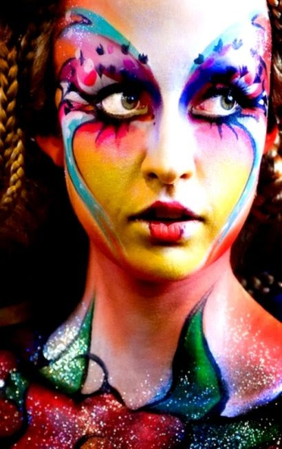 Body Painting Face  Body Art Pictures