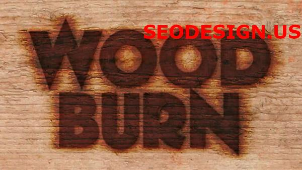 Create a text burnt on wood in photoshop by photoshoproadmap