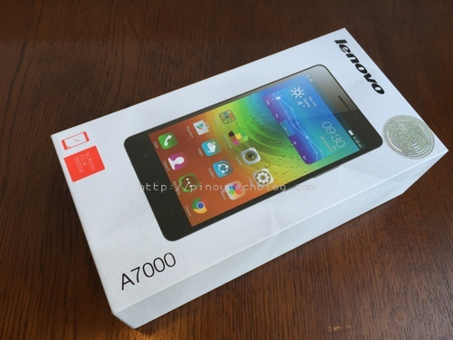 Lenovo A7000 Review front
