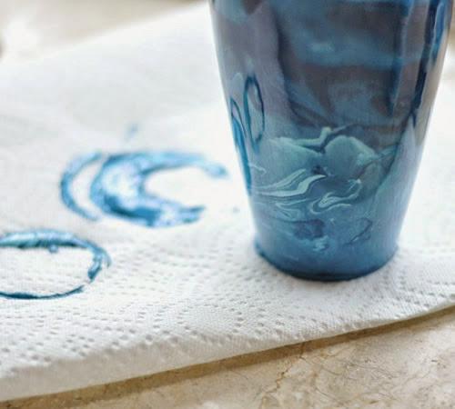 Vaso colorido