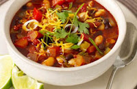 Weight Loss Recipes : Vegetarian Chili