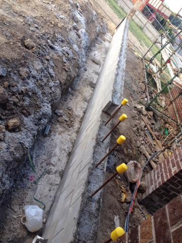 besser block driveway retaining wall