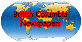 British Columbia Free Online Newspapers Image