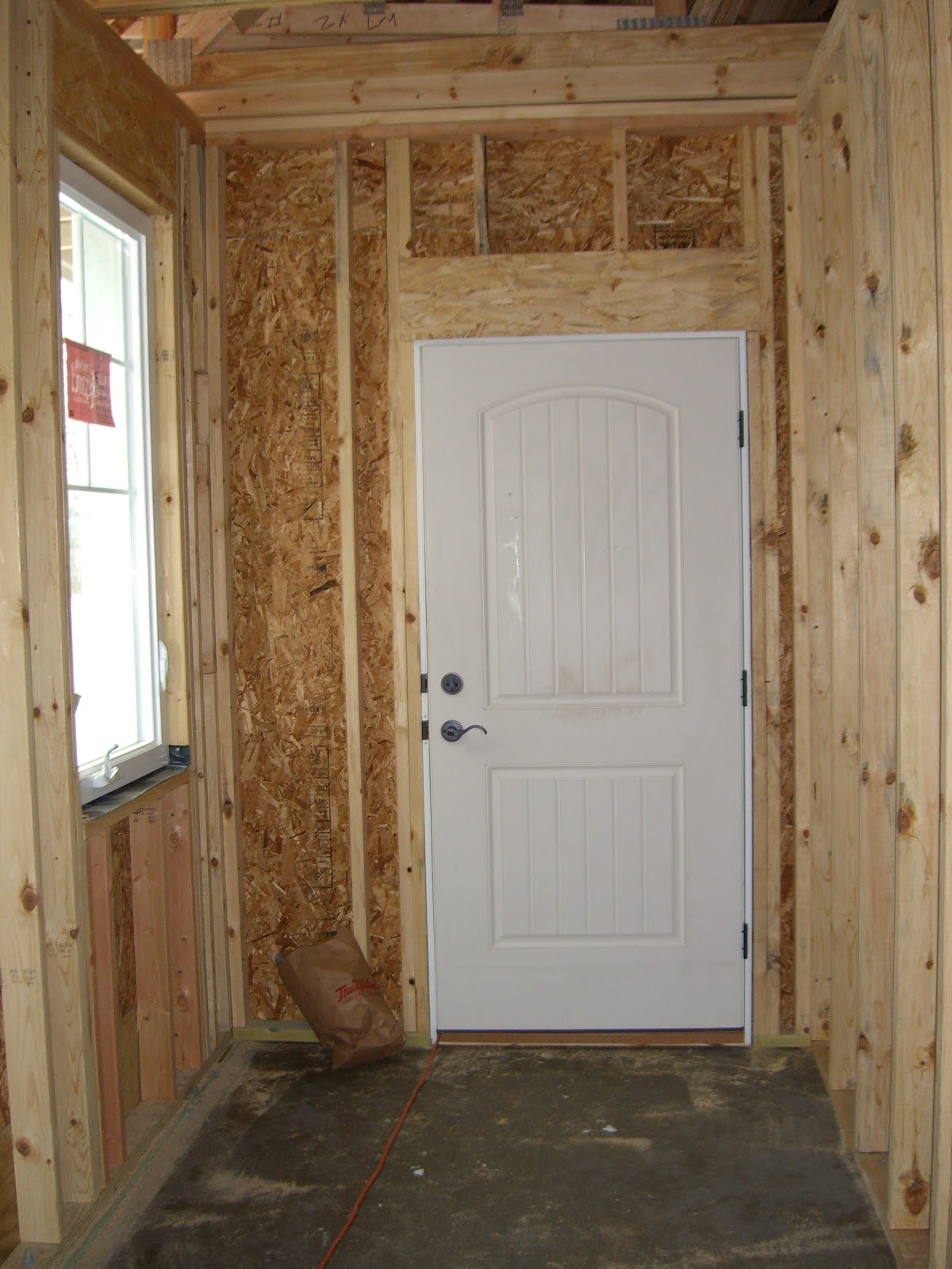 Beau This Is The Entry Door From The Garage To The House.