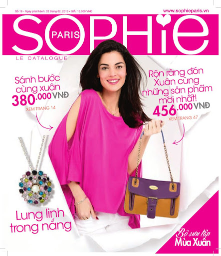 Sophie Paris Catalog 18