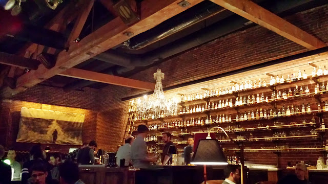 Multnomah Whiskey Library atmosphere