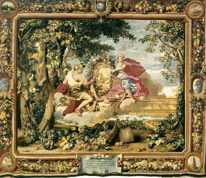 Charles Le Brun - The Seasons - Autumn