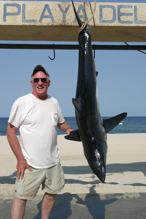 John Kaeser's Mako Shark catch