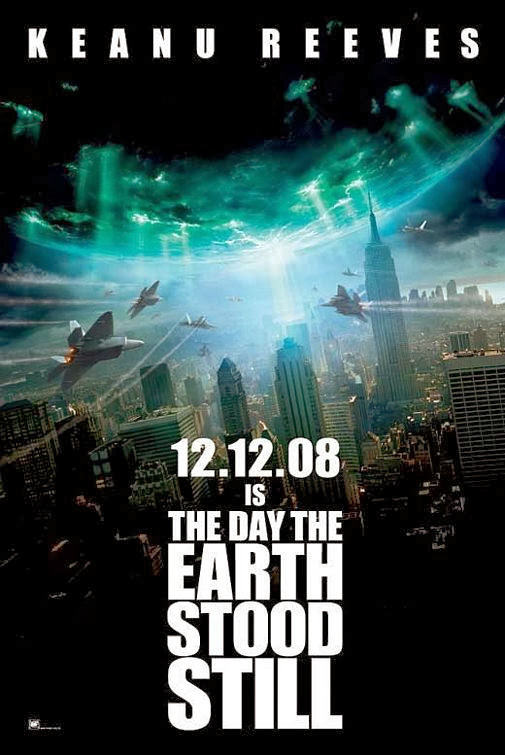 Poster Of The Day The Earth Stood Still (2008) Full Movie Hindi Dubbed Free Download Watch Online At Alldownloads4u.Com