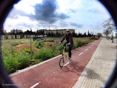 Carril bici Son Ferriol, Ciudad Jardin