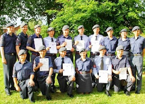 Top awards for local Air Cadets