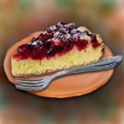 Рецепт приготовления вишнёвый пирог