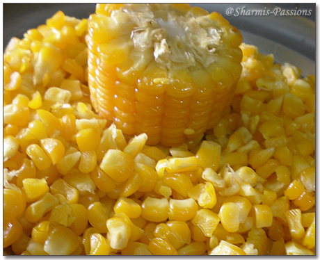 Corn in Onion Sauce