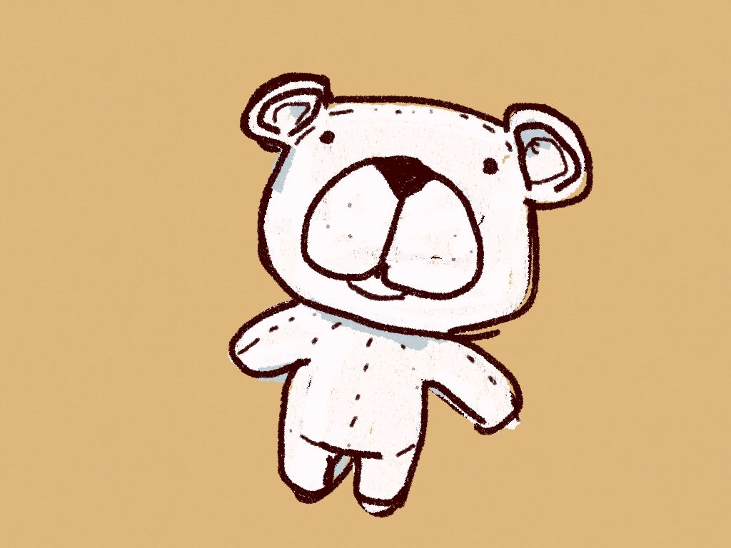 Ikea Bear made with Sketches