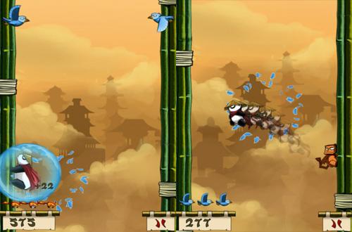 Panda Jump trên iOS có phiên bản miễn phí 2