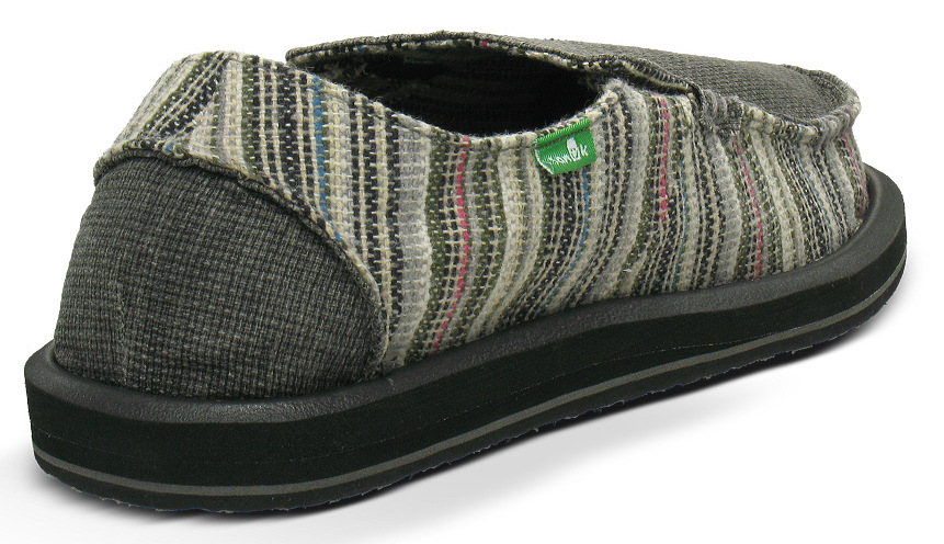 *Sanuk 左右不對稱立體:FUNK SHWAY懶人鞋! 4