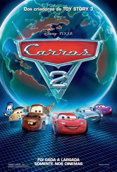 Download - Carros 2 – DVDRip AVI Dual Audio + RMVB Dublado