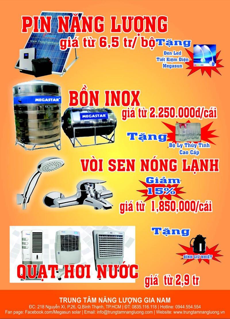 khuyến mãi khi mua máy nước nóng năng lượng mặt trời