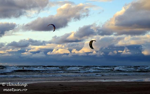 kitesurfing pe Lacul Huron