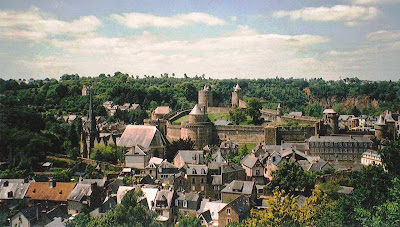 Panorama di Fougéres