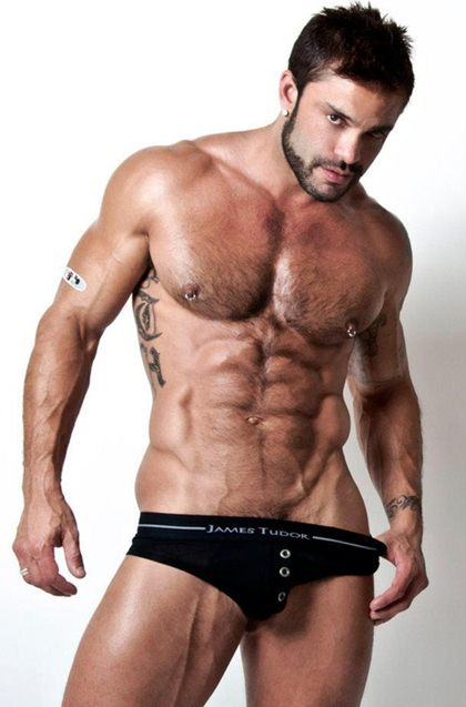 Tristan Hamilton - Hot Underwear Male Model