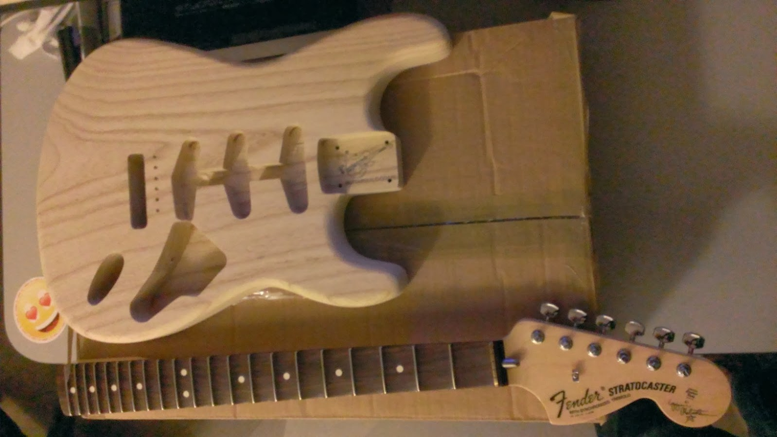 Construction fender malmsteen :-) (photos page 3) - Page 2 WP_20131217_004