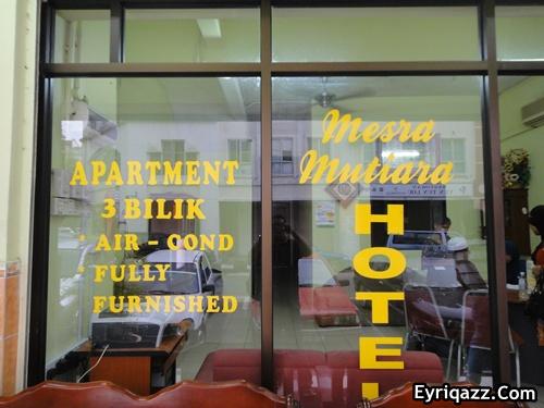 Hotel Mesra Mutiara Kami Terjahi
