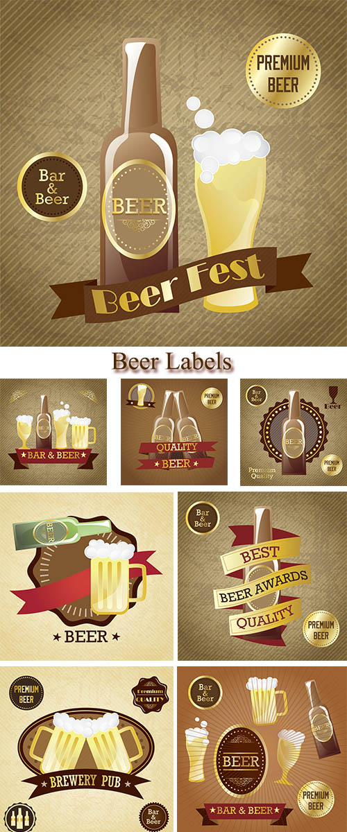 Stock: Beer Labels