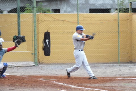José Leza  de Tiburones en la Liga de Beisbol de Salinas Victoria