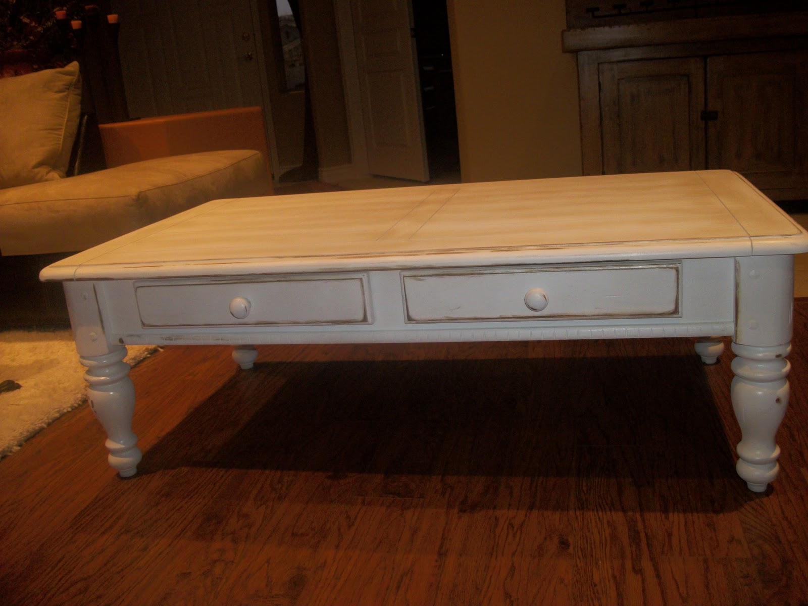 Designer Dropout Shabby Chic Coffee Table SOLD