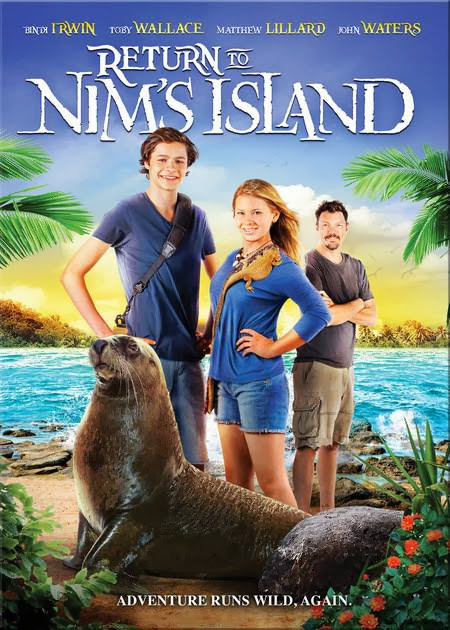 Poster Of English Movie Return to Nims Island (2013) Free Download Full New Hollywood Movie Watch Online At Alldownloads4u.Com