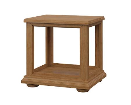 Edinbugh End Table in Calhoun Maple