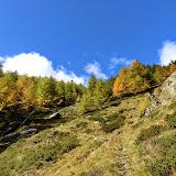 Herbstwanderung zur Mastaunalm im Oktober