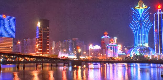 Macau is the highest GDP grossing country 2014