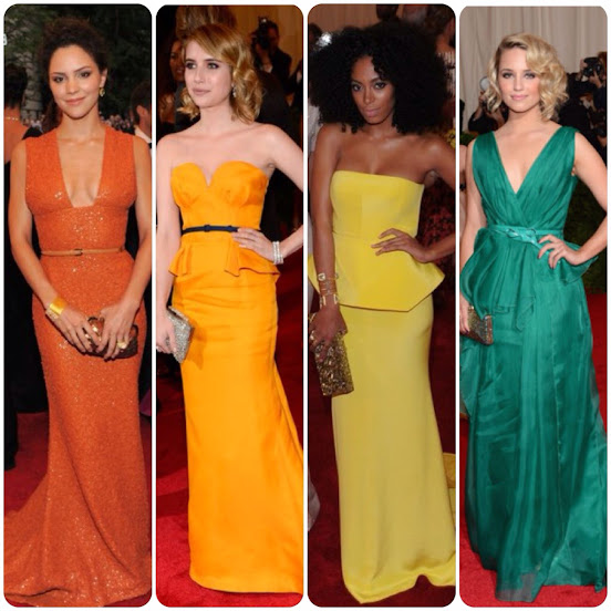 Actresses at the Met Gala Fashion and Style
