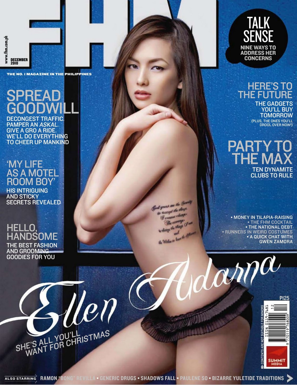 Pinoy's Mens Magazines Photo Collections: FHM Philippines