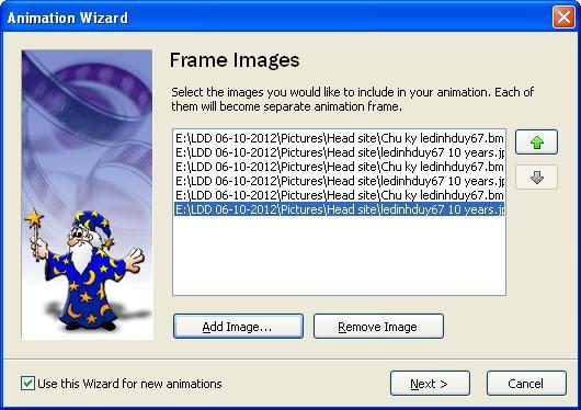 Easy GIF Animator 5.1 Pro Full - Phần mềm làm ảnh động - Image 02