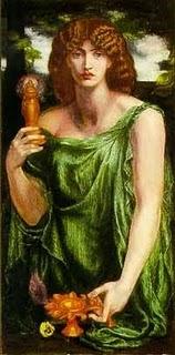 Goddess Mnemosyne Image