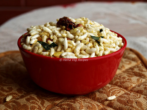 Spicy Puffed Rice or Kara Pori