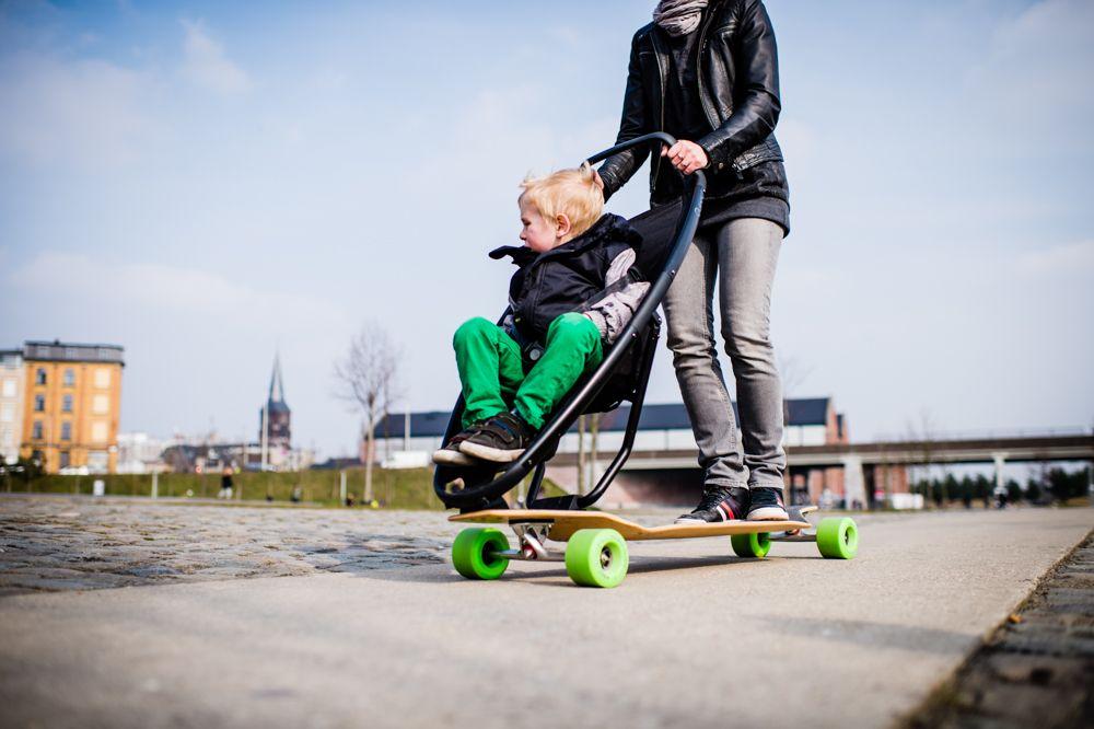 *滑板嬰兒推車:Quinny與Longboard Stroller夢幻戶外組合! 1