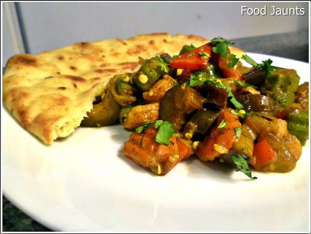 Indian Spiced Chicken and Vegetables