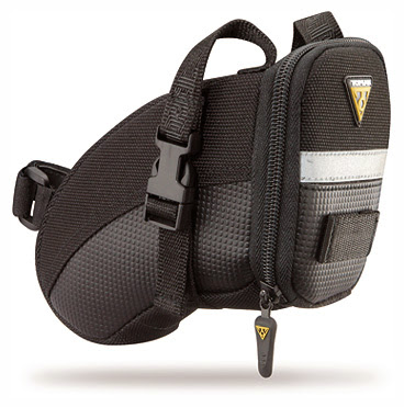 Topeak Aero Wedge Pack Small, Strap Version Подсёдельная сумка