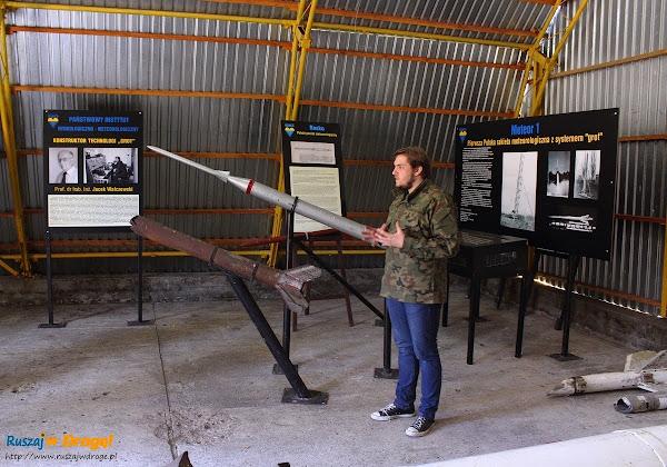 rakiety meteorologiczne - Rąbka koło Łeby
